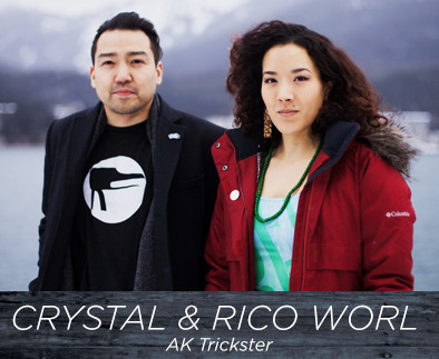 Crystal and Rico Worl - AK Trickster