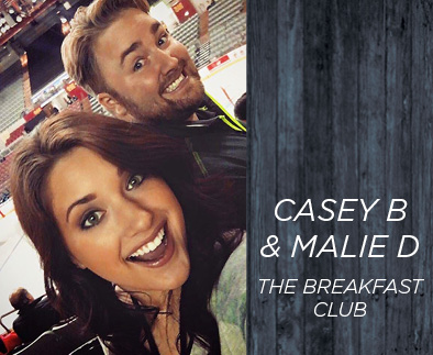 Casey B and Malie D - The Breakfast Club