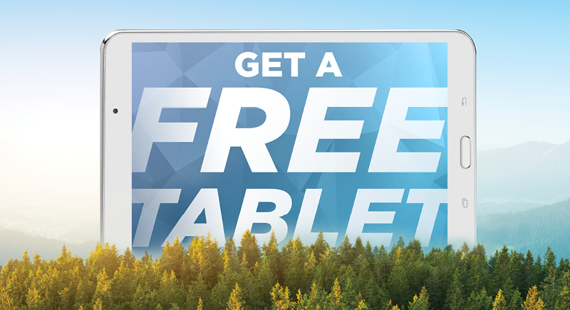 Get a Free Tablet
