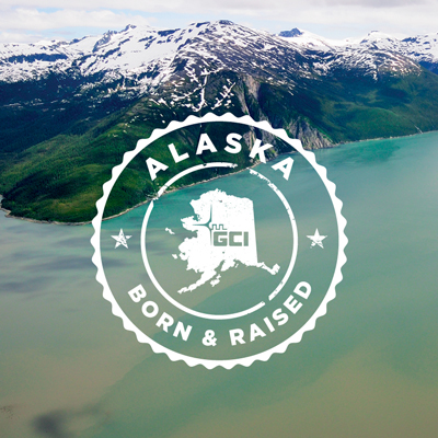 Alaska Born and Raised Stamp of Approval