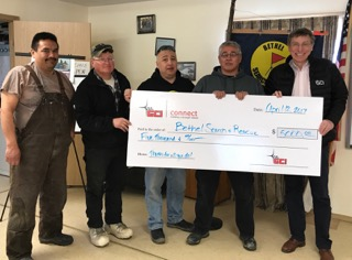 Bethel Emergency Services donation