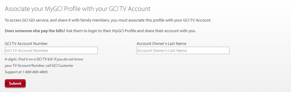 Associate your MyGCI Profile with your GCITV account